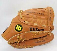 "Wilson Outfielder Baseball Glove Mitt 11"" Right Handed dual Hinge A2134 AS6"