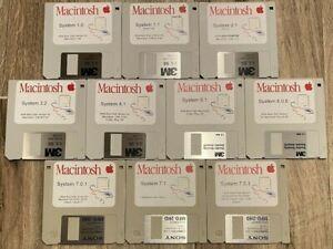 Vintage Classic Apple Macintosh System Boot Install Floppy/CD *Pick Version* GR8
