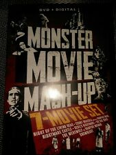 Monster Movie Mash-Up 7-Movies 2 Dvds Night Of The Living Dead Nightmare Castle