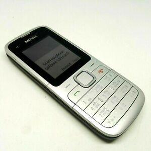 Nokia C1-01 - Silver gray (Unlocked) Basic Button Mobile Phone