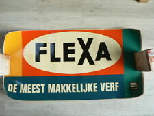 STICKER,DECAL FLEXA SIKKENS VERF DE MEEST MAKKELIJK  BIG SIZE STICKERS ROLLED UP