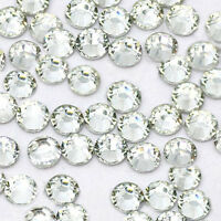 1440 pcs HotFix Iron-On Flatback Rhinestones Beads SS16 Clear Crystal 4mm