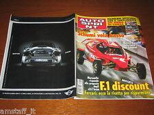 AUTOSPRINT 2004/49=MICHAEL SCHUMACHER=JARNO TRULLI=PUBBLICITA' MINI CABRIO