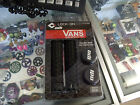 ODI VANS LOCK-ON FLANGELESS BLACK BMX MTB FIXIE FIXED BICYCLE GRIPS