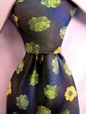 Men's Terra Nostra Beautiful Blue Silk Classic Tie Made in Canada 19547