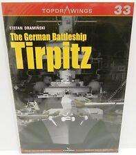 Kagero Publishing - Top Drawings 33 - The German Battleship Tirpitz   Book   New