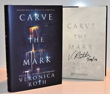 **SIGNED /DATED 1/1** Carve the Mark by Veronica Roth (The Fates Divide)