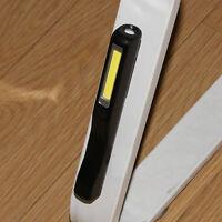 LED RICARICABILE LUCE DA LAVORO LAMPADA D'ispezione COB USB PENNA GANCIO torcia