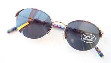 Gafas de Sol Mujer Montura Oscuro Gafas 100% Protección UV Mariposa TALLA S
