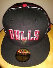 Jordan Hat Chicago Bulls NBA New Era 59FIFTY Cap HWC NIGH Basketball Mens Size 7