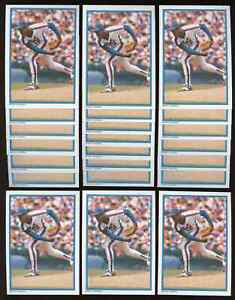 """Lot of 22: 1985 Topps Glossy DWIGHT """"DOC"""" GOODEN Mail-In ROOKIE cards #38 NM-MT+"""