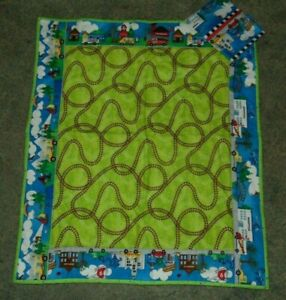 Changing Pad Handmade Flannel with Detachable Pocket