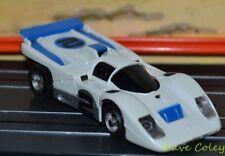 AURORA AFX FERRARI 512M WHITE & BLUE aperta SFIATO MEDIA VERDE MOTOR / SLOT CAR