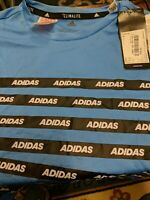Adidas Climalite Boys T Shirt  Age 13_14 Yrs New But No Packaging Ref Tote H