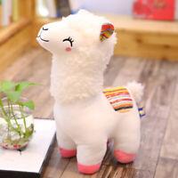 Cute Alpaca Plush Toy 25CM Height Camel Cream Stuffed Animal Kids Doll Sell Well