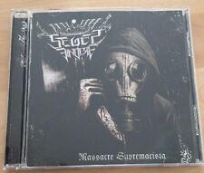 Seges Findere - Massacre Supremacista CD (Intolerant War Black Metal, Sammlung)