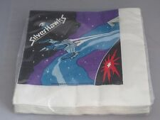 Silverhawks Silver Hawks party luncheon napkins 13 x 13 MIP - Telepix