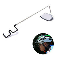 Bicycle Cycling Riding Mirror Helmet Mount Rear View Rear View Brillens YA9C