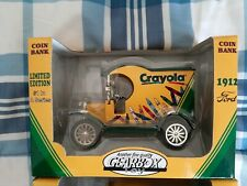 1998 Gearbox Limited Edition Coin Bank 1912 Ford Crayola Truck #1#2#3 make offer