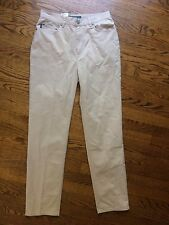 NWT New Ralph Lauren Jeans Co Womens 5-Pocket Chino Beige Khaki Casual Pants 4