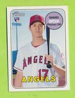 2018 Topps Heritage Rookie - Shohei Ohtani (#600)  Los Angeles Angels