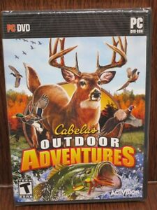 Video Game PC Cabelas Outdoor Adventures NEW SEALED