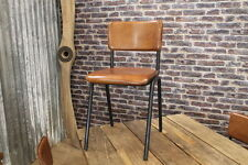 Leather Art Deco Antique Chairs