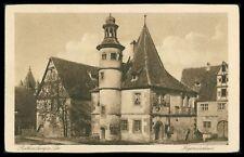 Deutschland Ak Rothenburg Ob Der Tauber Alte Ansichtskarte Foto-ak Postcard Cx50 Sammeln & Seltenes