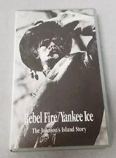 Rebel Fire Yankee Ice VHS Tape: Civil War, Johnson Island Story, POW Camp,
