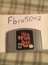 conkers bad fur day n 64 Clean And Tested !