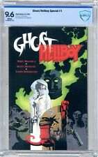 Ghost Hellboy  #1  CBCS  9.6  NM+  White pgs  6/97  Mike Mignola cover & story