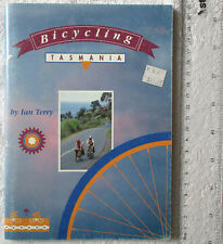 BICYCLING TASMANIA: Ian Terry with cartoons by Phil Somerville 1991 1stE SC