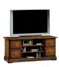 Porta tv arte povera mobile televisore classico soggiorno portatv legno massello