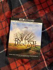 Big Fish (4K Disc) W/ Slipcover + Digital Code