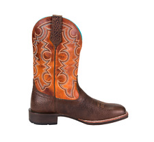 Noble 65026-132 Mens All Around Cowboy Brown Pumpkin Boot 12 E US