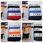 CALVIN KLEIN Boxer Briefs MICROFIBER Mens Underwear 3 Pack 4 Pack Navy Black Red