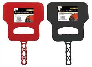 BBQ Handheld Fan Plastic/Reusable ( 2 Colours )
