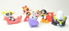 Powerpuff Girls Burger King 2002 complete set 5 action figures Bubbles Mojo Jojo