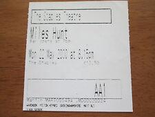 MILES HUNT - THE STABELS WAVENDON UK 22.5.2000 USED CONCERT TICKET