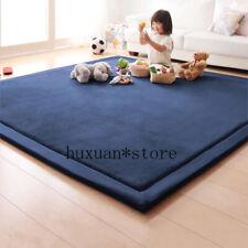 Japanese  Thickening Coral Fleece Velvet Mattress Bed Tatami Carpet Crawling Mat