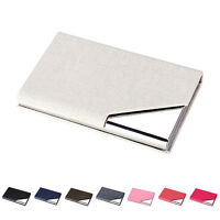 Men Wallet Business Stainless Name Credit ID Card Holder Pocket Case Purse NT
