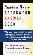 Random House Crossword Answer Book (RH Crosswords)