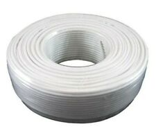 Tupavco TP801 - 300ft White Roll (100 M - 328 ft) 4X1/0.4 Reel Telephone Cord