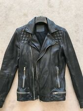 All Saints Men's Conroy Leather Jacket, XS - Worn Once - Immaculate Condition