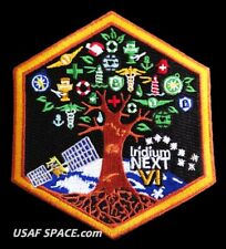 AUTHENTIC Iridium NEXT Launch-6 - SPACEX FALCON 9 USAF VAFB COMM SATELLITE PATCH