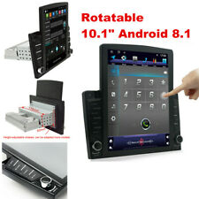 10.1Inch 1DIN Android 8.1 Quad-core Car Stereo Radio GPS Nav Mirror Link Wifi