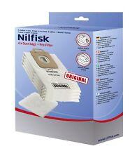 2 x Nilfisk genuine power and select vacuum bags 107407639