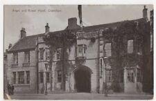 Angel & Royal Hotel Grantham 1915 Postcard, B092