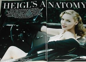 2008 article about Katherine Heigl, photos, interview