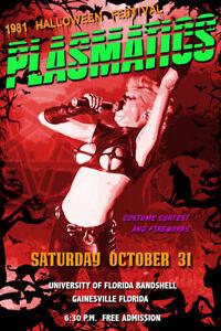 PLASMATICS Halloween Concert Poster